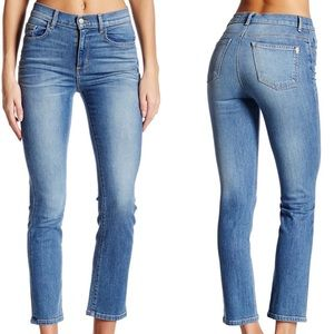 SIWY Jackie High Rise Crop Straight Jean (Call Me)
